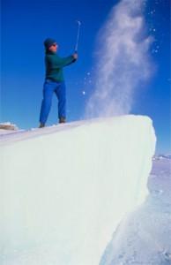Photo courtesy of the World Ice Golf Championship. See our article about the World Ice Golf Championship.