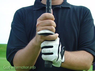 Interlock grip. Photo © Golf-information.info